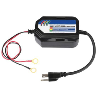 1.5A/12V 3-Step Car Battery Charger
