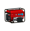 6500W Gasoline/LPG Dual Fuel Generator with Wheels for Field Work